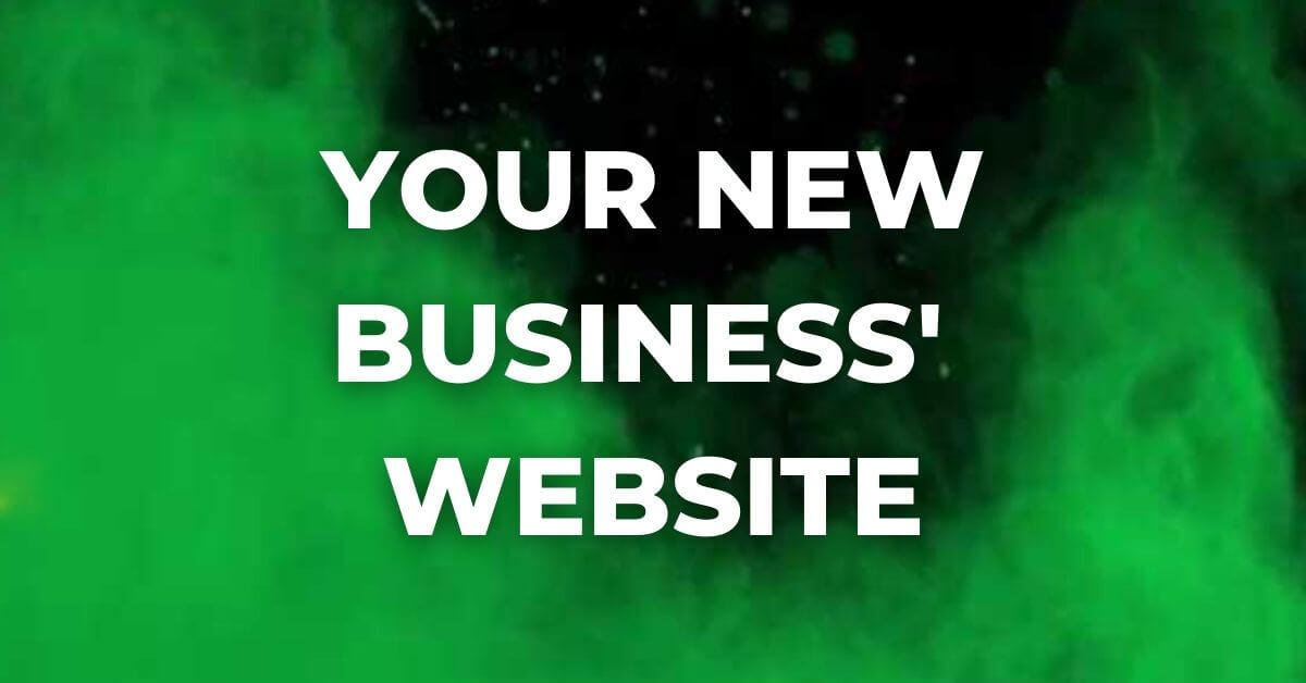 new business website