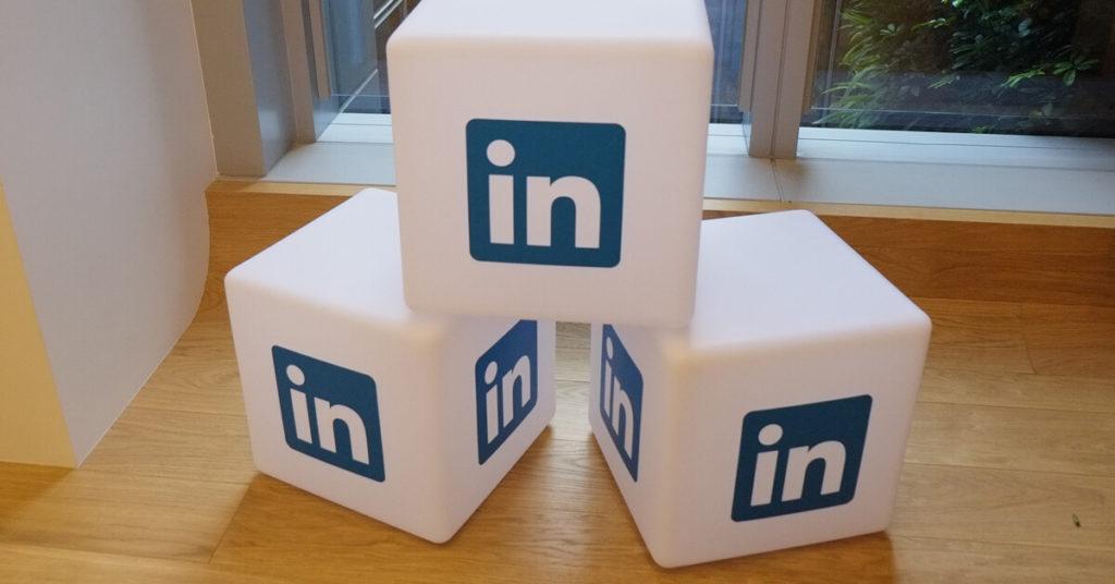 LinkedIn cubes