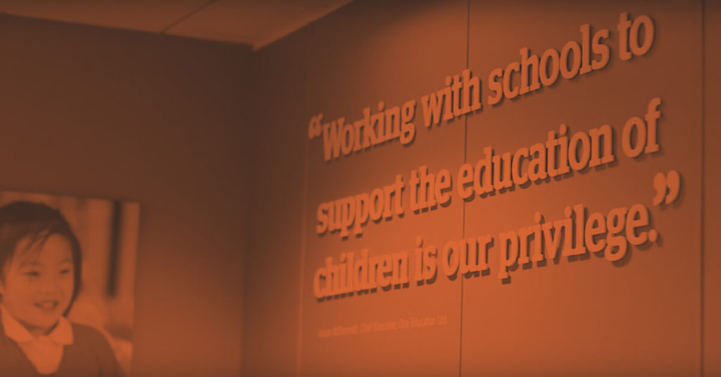 One Education banner