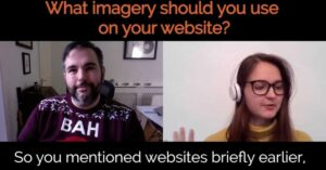 What imagery should you use on your website?